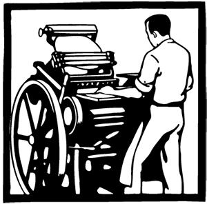 Trykkpresse