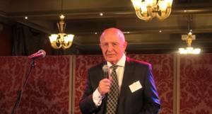 Knut Maroni er leder for NOK, her under utdeling av årets Optimeringspris.