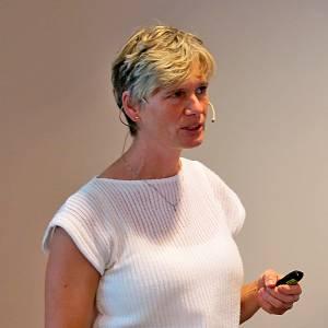 Hanne Møller presenterte NOK-rapporten 2015.