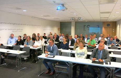 Mange møtte opp på seminaret der NOK-rapporten ble presentert.