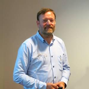 Thomas Eie presenterte BAMS nye hjelpeverktøy.