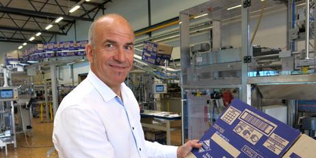 Tor Gustavsen og Tronrud Engineering ønsker å være en del av det norske emballasjemiljøet.