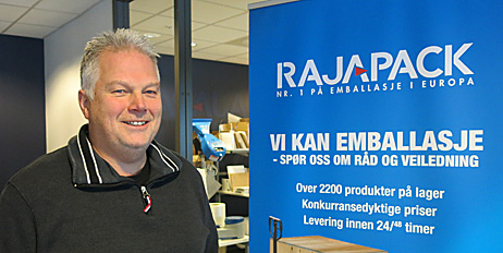 - Vi må være en del av miljøet, sier Magnar Vitsø i Rajapack.