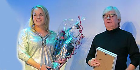 Christin og Eirik Faukland på ScanStar-utdelingen på Emballasjedagene 2016. WorldStar deles ut på interpack i mai 2017.
