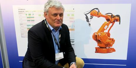 Jan Erik Evanger i APX Systems viste nyheter.
