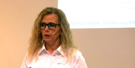 Marit Kvalvåg Pettersen forklare hvor mye forskning som ligger bak god emballering.