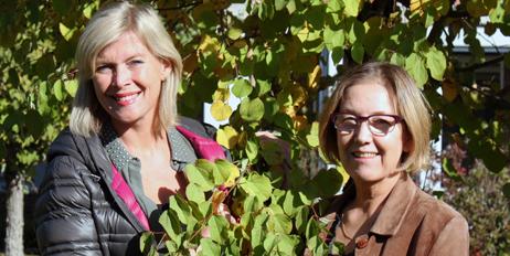 Trine Rørvik (t.v.) og Siw Fredriksen i Norner som leder FuturePack.