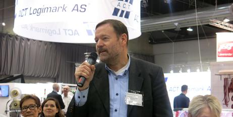 Styreleder Thomas Eie  i Emballasjeforeningen tok ordet fra salen.