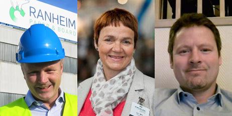 Kyrre Auran, Nancy Strand og Vidar Nilssen.