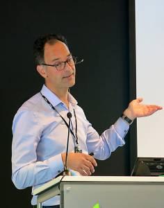 Jens Petter Wold leder programmet FoodSmack.