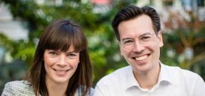 Camilla Haustrup Hermansen og Anders Top Haustrup.