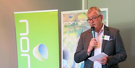 Ole Jan Myhre, markedssjef i Norner.