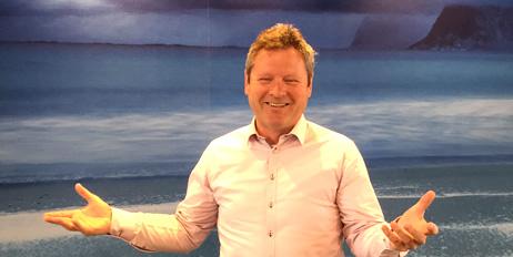 Vidar Nilssen er ansvarlig for salg av emballasje til industrien i Norge.