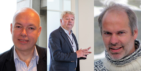 Morten Aas, Yngve Krokann og Hans Willemsen er kandidater til Emballasjefagprisen 2017.