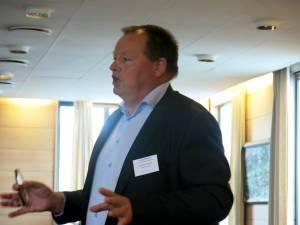 Tom Egil Klausen fortalte om to spennende Bama-prosjekter.
