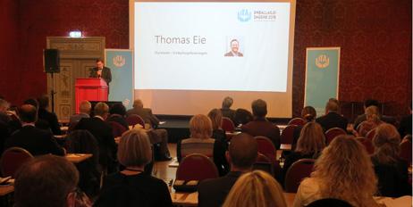 Thomas Eie er styreformann i Emballasjeforeningen